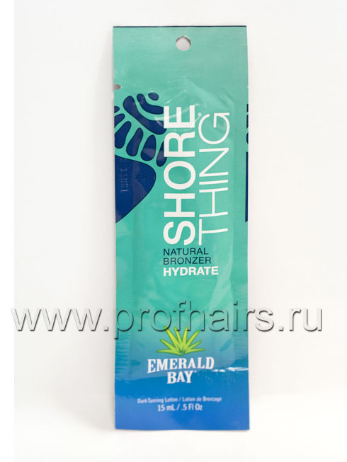 Emerald Bay Shore Thing Natural Bronzer Бронзаторы из сахарного тростника 15 мл.